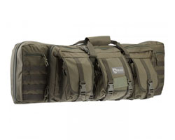 "Drago Gear 36"" Double Rifle Gun Case - OD Green"