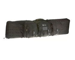 "Drago Gear 46"" Single Rifle Gun Case - Black"