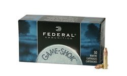 Federal .22 Caliber Game Shok 31 Grain Plated Hollow Point 724 (5000 Round Case)