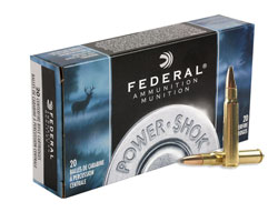 Federal 8mm Mauser 170 Grain Power Shok SP 8A (200 Round Case)