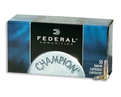 Federal 510 .22 Long Rifle 40 Grain Solid (5000 Round Case)