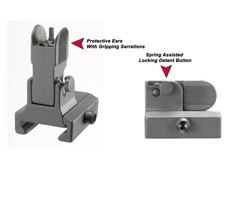 GG&G Flip Up Front Sight For Dovetail Gas Blocks