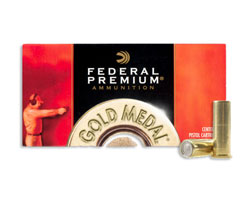 Federal .38 Special Gold Medal Match LWCM GM38A (1000 Round Case)