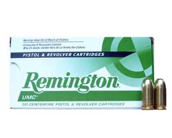 Remington UMC .45 GAP 230 Grain FMJ (500 Round Case)
