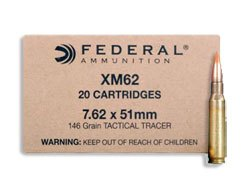 Lake City XM62 175 Grain Tracer Rounds (500 Round Case)