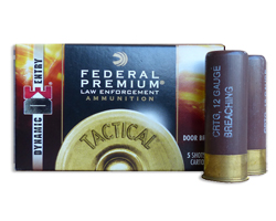 Federal LE 12 ga 425 Grain Dynamic Entry Door Breach Rounds (5 round box)