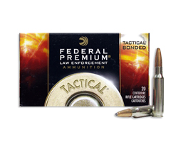 Federal LE .308 Tactical Bonded 165 Grain Bonded SP LE308T1 (200 round case)