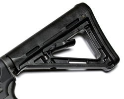 Magpul MOE Buttstock - Mil Spec Version - Black