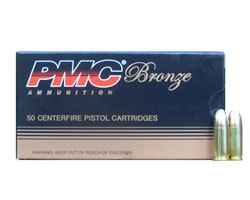 PMC Bronze 9MM 115 Grain FMJ 9A (1000 round case)