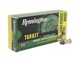 Remington Target .38 S&W 146 Grain LRN (500 Round Case)