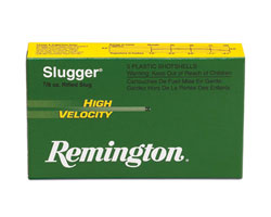 "Remington 12 Ga Slugger High Velocity Slugs 3"" (250 Round Case)"