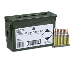 Lake City 5.56 55 Grain XM193 (420 Rnds Ammo Can/Strippers)