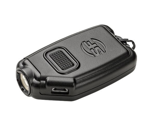 Surefire Sidekick Ultra-Compact Variable-Output LED Flashlight - Black